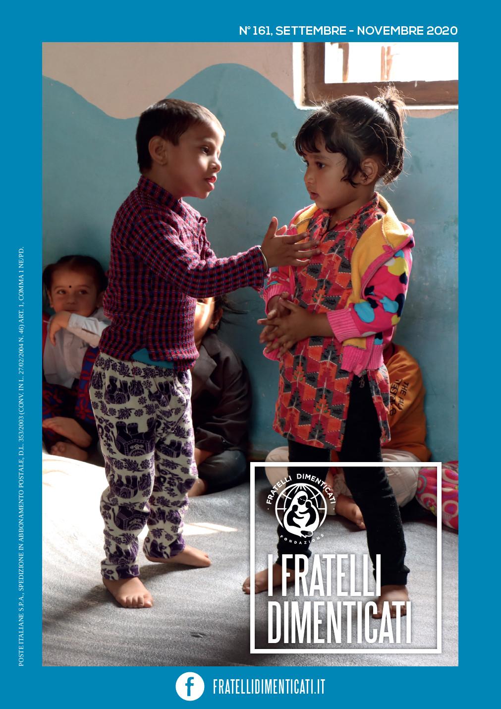 Rivista I Fratelli Dimenticati N° 161, Settembre-Novembre 2020